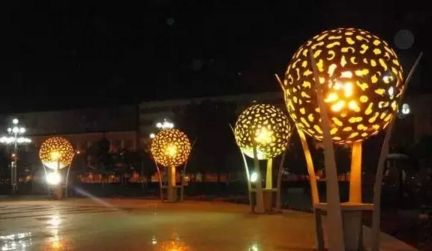 景观灯的设计改造方案精密零件